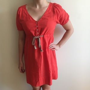 J Crew Size 2 Linen Dress in Like-New Condition